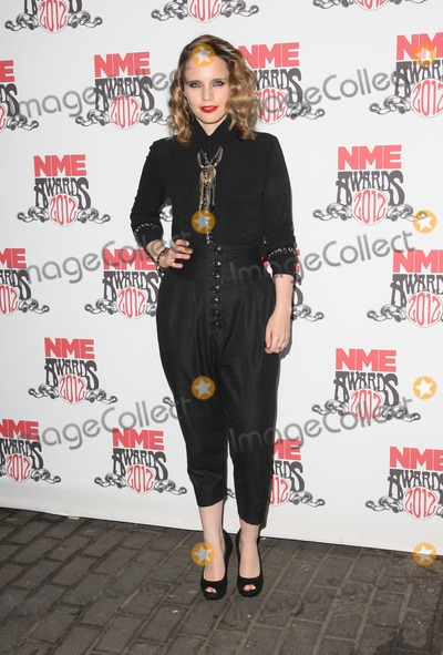 Anna Calvi Photo - Anna Calvi arriving for the NME Awards 2012 held at The Brixton Academy London 29022012 Picture by Henry Harris  Featureflash