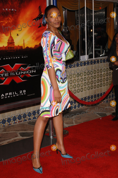 Nona Gaye Photo - Actress NONA GAYE at the Los Angeles premiere of her new movie XXX State of the UnionApril 25 2005 Los Angeles CA 2005 Paul Smith  Featureflash