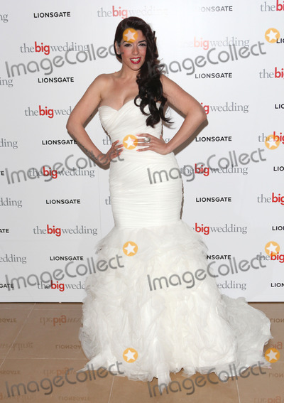 Ruth Lorenzo Photo - Ruth Lorenzo arriving for the The Big Wedding Screening at the May Fair Hotel London 23052013 Picture by Alexandra Glen  Featureflash