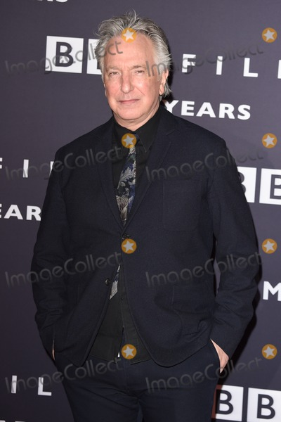 Alan Rickman Photo - Alan Rickman arrives for the BBC Films 25th Anniversary Reception at Radio Theatre New Broadcasting House London 27032015 Picture by Steve Vas  Featureflash