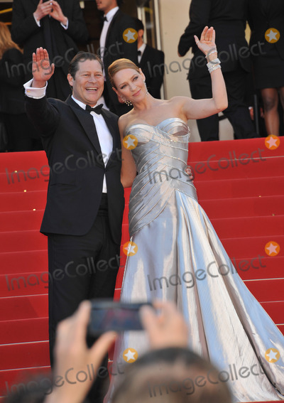 Arpad Busson Photo - Uma Thurman  partner Arpad Busson at the closing awards gala of the 66th Festival de CannesMay 26 2013  Cannes FrancePicture Paul Smith  Featureflash