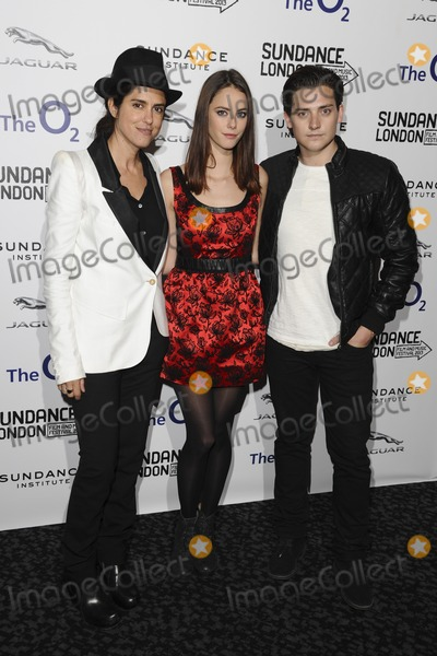 Aneurin Barnard Photo - director Francesca Gregorini and actors Kaya Scodelario and Aneurin Barnard arriving for screening of Emanuel And The Truth About Fishes as part of the Sundance London Festival 2013 at the O2 Greenwich London26042013 Picture by Steve Vas  Featureflash