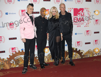 No Doubt Photo - Gwen Stefani and No Doubt arriving for the The MTV EMAs 2012 held at Festhalle Frankfurt Germany 11112012 Picture by Henry Harris  Featureflash