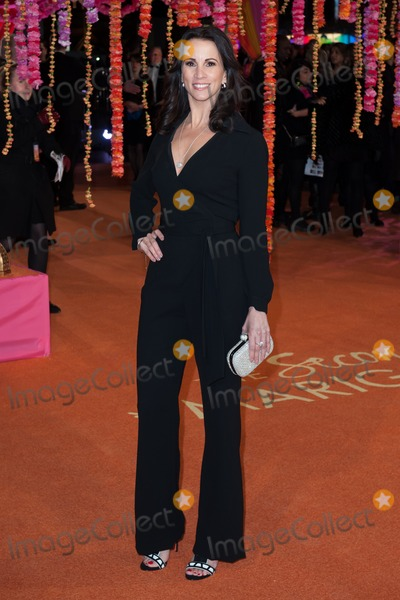 Andrea Mclean Photo - Andrea McLean arriving for the The Second Best Exotic Marigold Hotel Uk Premiere at the Odeon Leicester Square London