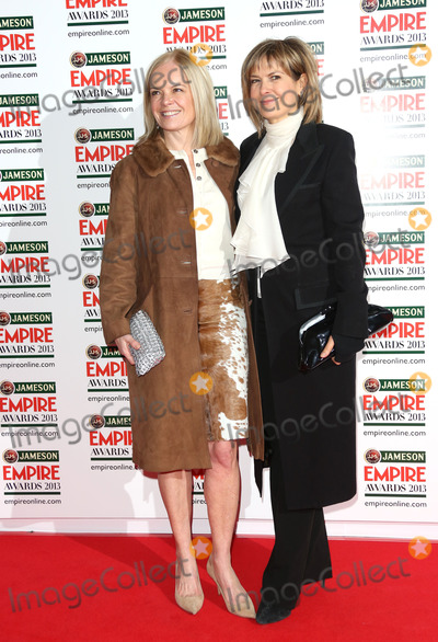 Penny Smith Photo - Mariella Frostrup and Penny Smith arrives for the Empire Film Awards 2013 at the Grosvenor House Hotel London 24032013 Picture by Henry Harris  Featureflash