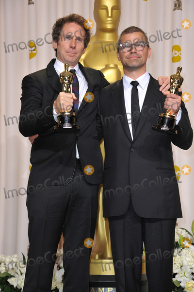 Angus Wall Photo - Kirk Baxter  Angus Wall winner for Best Film Editing for The Girl With The Dragon Tattoo at the 82nd Academy Awards at the Hollywood  Highland Theatre HollywoodFebruary 26 2012  Los Angeles CAPicture Paul Smith  Featureflash