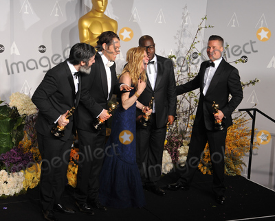 Steve Mc Queen Photo - Brad Pitt  Steve McQueen  Dede Gardner  Jeremy Kleiner  Anthony Katagas at the 86th Annual Academy Awards at the Dolby Theatre HollywoodMarch 2 2014  Los Angeles CAPicture Paul Smith  Featureflash