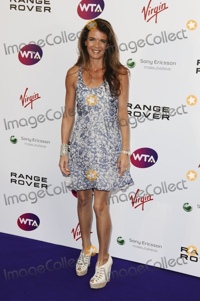 Annabelle Croft Photo - Annabel Croft arriving for the Pre Wimbledon Party Kensington Roof Gardens London 16072011  Picture by Steve Vas  Featureflash