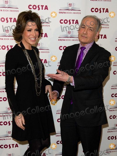 Alastair Stewart Photo - Natasha Kaplinsky and Alastair Stewart arriving for The 2012 Costa Book Awards at Quaglianos Restaurant in London on 24th Jan 2012Pics by Simon Burchell  Featureflash