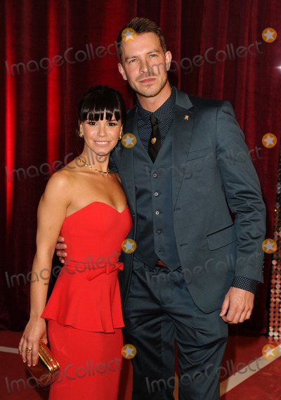 Ashley Taylor Photo - Ashley Taylor Dawson and Jessica Fox arriving for the British Soap Awards 2013 at Media City Manchester 18052013 Picture by Steve Vas  Featureflash