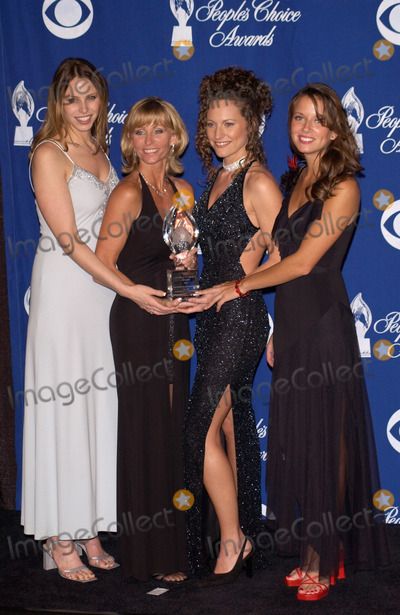 Amber Brkich Photo - Survivor stars KIMMI KAPPENBERG (left) TINA WESSON JERI MANTHEY  AMBER BRKICH at the 28th Annual Peoples Choice Awards in Pasadena13JAN2002 Paul SmithFeatureflash