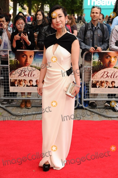 Amanda Qin Photo - Qin Hai Lu (Amanda Qin) arrives for the Belle premiere at the BFI South Bank London 05062014 Picture by Steve Vas  Featureflash