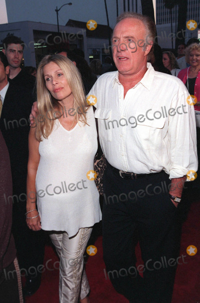 The Rat Pack Photo - 18AUG98  Actor JAMES CAAN  (heavily pregnant) wife at the Beverly Hills premiere of HBOs The Rat Pack The movie is based on the lives of Frank Sinatra Dean Martin Peter Lawford  Joey Bishop