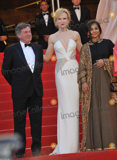 Cannes Jury Photo - Cannes Jury members Nicole Kidman Daniel Auteuil  Vidya Balan at the closing awards gala of the 66th Festival de CannesMay 26 2013  Cannes FrancePicture Paul Smith  Featureflash