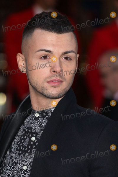 Jaymi Hensley Photo - Jaymi Hensley from Union J arriving for the I Cant Sing Press Night at the Paladium London 26032014 Picture by Alexandra Glen  Featureflash