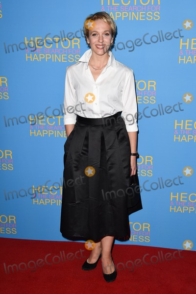 Amanda Abbington Photo - Amanda Abbington arrives for the UK premiere of Hector and the Search for Happiness at the Empire Leicester Square London 13082014 Picture by Steve Vas  Featureflash