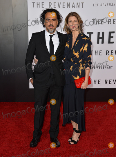 Alejandro GInarritu Photo - Director Alejandro G Iarritu  wife Maria Eladia Hagerman at the Los Angeles premiere of his movie The Revenant at the TCL Chinese Theatre Hollywood December 16 2015  Los Angeles CAPicture Paul Smith  Featureflash