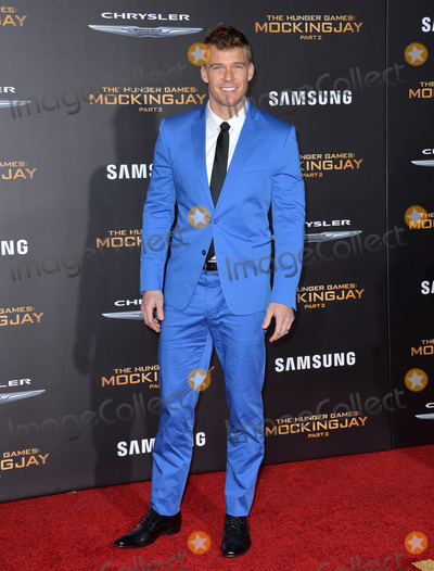 Alan Ritchson Photo - Actor Alan Ritchson at the Los Angeles premiere of  The Hunger Games Mockingjay - Part 2 at the Microsoft Theatre LA Live November 16 2015  Los Angeles CAPicture Paul Smith  Featureflash