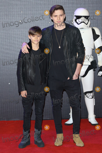 Brooklyn Beckham Photo - Romeo Beckham  Brooklyn Beckham at the European premiere of Star Wars The Force Awakens in Leicester Square London December 16 2015  London UKPicture James Smith  Featureflash