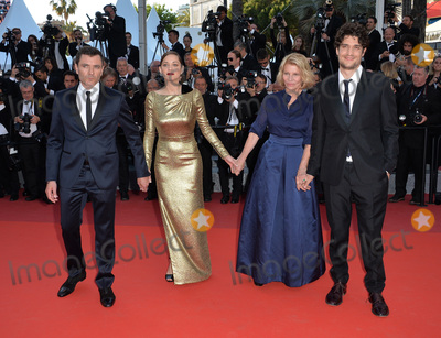 Alex Brendemuhl Photo - Director Nicole Garcia  actors Alex Brendemuhl Marion Cotillard  Louis Garrel at the gala premiere of From the Land of the Moon (Mal de Pierres) at the 69th Festival de CannesMay 15 2016  Cannes FrancePicture Paul Smith  Featureflash