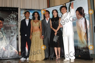 Tony Leung Ka Fai Photo - Actors JACKIE CHAN (in white)  TONY LEUNG KA FAI with Bollywood star MALLIKA SHERAWAT  Korean actress KIM HEE-SEON (in black)  director STANLEY TONG at the 58th Annual Film Festival de Cannes to promote their new movie The MythMay 17 2005 Cannes France 2005 Paul Smith  Featureflash