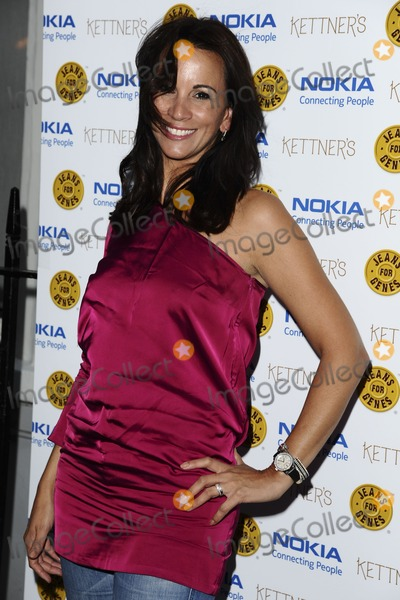 Andrea Mclean Photo - Andrea Mclean arriving for the Jeans For Genes Launch Party at Kettners London 06092011  Picture by Steve Vas  Featureflash