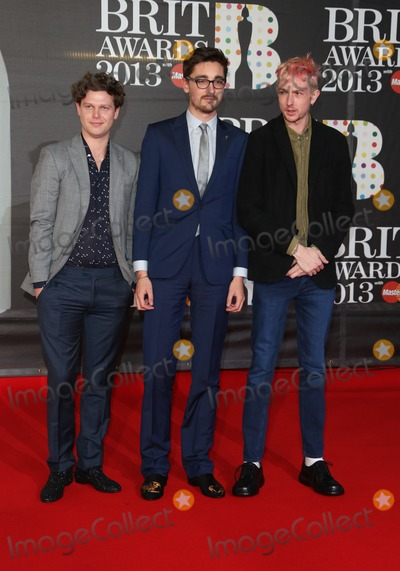 Alt J Photo - Alt-J arriving for the Brit Awards 2013 at the O2 Arena Greenwich London 20022013 Picture by Henry Harris  Featureflash