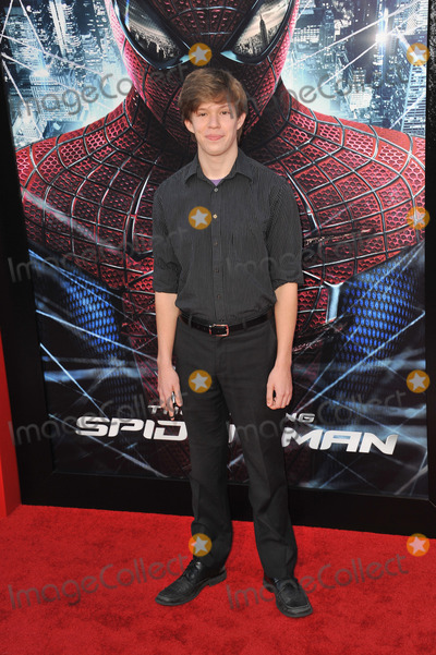 Andy Gladbach Photo - Andy Gladbach at the world premiere of his movie The Amazing Spider-Man at Regency Village Theatre WestwoodJune 29 2012  Los Angeles CAPicture Paul Smith  Featureflash