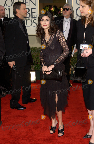 Audrey Tautou Photo - French actress AUDREY TAUTOU at the 59th Annual Golden Globe Awards in Beverly Hills20JAN2002 Paul SmithFeatureflash