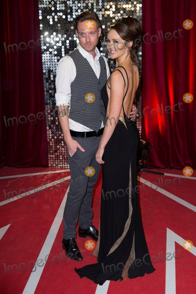 Andrew Moss Photo - Andrew Moss and Claire Cooper arriving for the 2013 British Soap Awards Media City Manchester 18052013 Picture by Simon Burchell  Featureflash