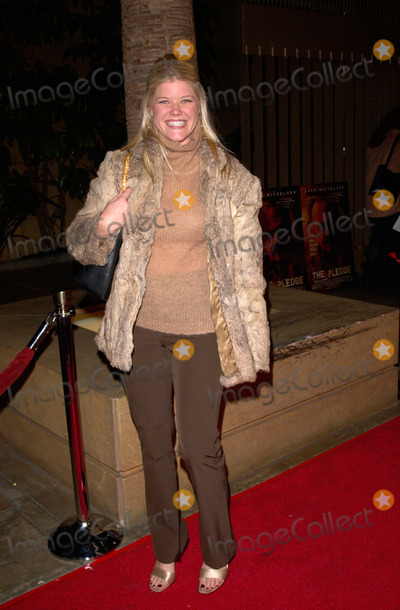 Sarah Ann Morris Photo - Actress SARAH ANN MORRIS at the world premiere in Hollywood of The Pledge09JAN2001   Paul SmithFeatureflash