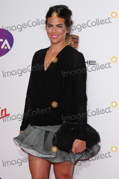 Ajla Tomljanovic Photo - Ajla Tomljanovic arrives for the WTA Pre-Wimbledon Party 2014 at the Kensington Roof Gardens London 19062014 Picture by Steve Vas  Featureflash