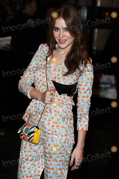 Angela Scanlon Photo - Angela Scanlon arriving for the British Fashion Awards 2012 at the Savoy Hotel London 27112012 Picture by Steve Vas  Featureflash