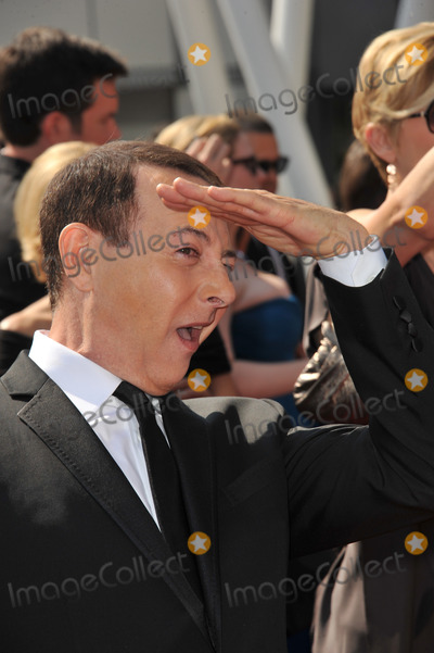 Pee-wee Herman Photo - Paul Reubens aka Pee Wee Herman at the 2011 Primetime Creative Arts Emmy Awards at the Nokia Theatre LA LiveSeptember 10 2011  Los Angeles CAPicture Paul Smith  Featureflash