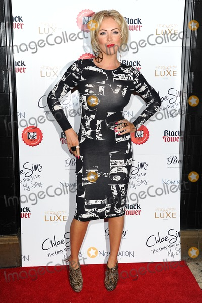 Aisleyne Horgan-Wallace Photo - Aisleyne Horgan Wallace arriving for the launch of Chloe Sims book at Luxe nightclub Essex 13112012 Picture by Alexandra Glen  Featureflash