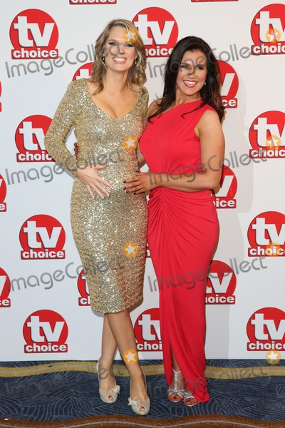 Susanna Reid Photo - Charlotte Hawkins Susanna Reid at the TV Choice Awards 2014 held at the Park Lane Hilton London 08092014 Picture by James Smith  Featureflash