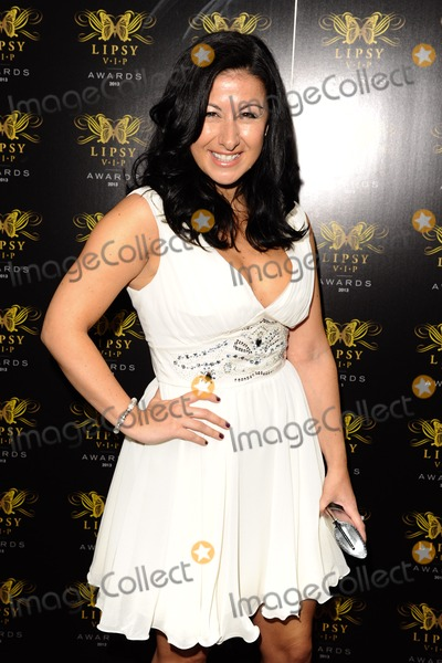 Hayley Tammadon Photo - Hayley Tammadon arriving for the Lipsy Fashion Awards  at Dstrkt London 29052013 Picture by Steve Vas  Featureflash