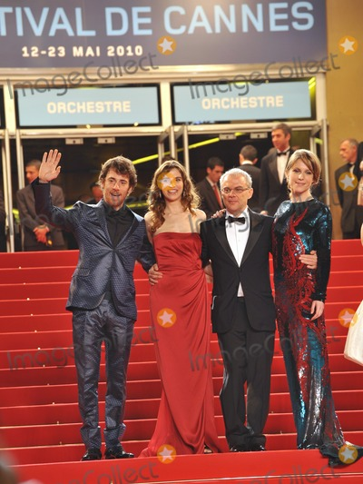 Alina Berzenteanu Photo - Elio Germano (left) Stefania Montorsi director Daniele Luchetti  Alina Berzenteanu at the premiere of their movie Our Life (La Nostra Vita) which is in competition at the 63rd Festival de CannesMay 20 2010  Cannes FrancePicture Paul Smith  Featureflash
