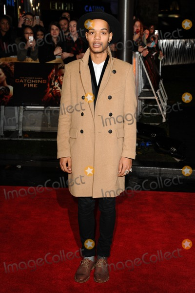 Harley Alexander-Sule Photo - Rizzle Kicks (Harley Sylvester Alexander-Sule) arriving for the World Premiere of The Hunger Games Catching Fire in Leicester Square London 11112013 Picture by Steve Vas  Featureflash