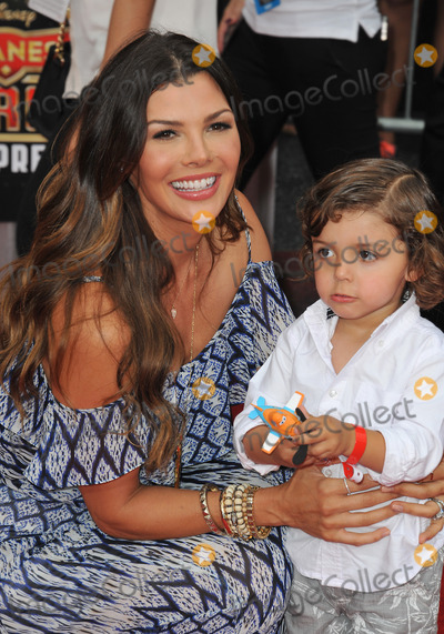 Alejandro Monteverde Photo - Ali Landry  son Marcelo Alejandro Monteverde at the world premiere of Disneys Planes Fire  Rescue at the El Capitan Theatre HollywoodJuly 15 2014  Los Angeles CAPicture Paul Smith  Featureflash