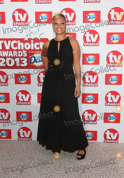 Angela Griffin Photo - Angela Griffin arriving at The TV Choice Awards 2013 held at the Dorchester London 09092013 Picture by Henry Harris  Featureflash