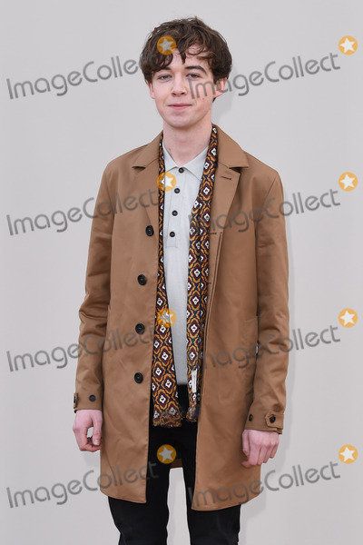 Alex Lawther Photo - Alex Lawther arriving at the Burberry Prorsum show during The London Collections Menswear AW 2016 at Kensington Gardens LondonJanuary 11 2016  London UKPicture Steve Vas  Featureflash