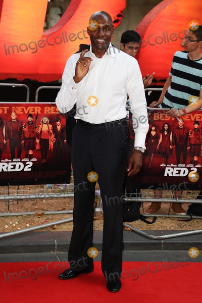 John Fashanu Photo - John Fashanu arriving for the UK Premiere of Red 2 at Empire Leicester Square London 22072013 Picture by Steve Vas  Featureflash