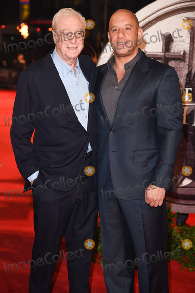 Sir Michael Caine Photo - Sir Michael Caine  Vin Diesel at the European premiere of The Last Witch Hunter at the Empire Leicester Square LondonOctober 19 2015  London UKPicture Steve Vas  Featureflash