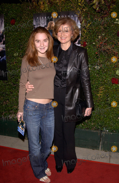 Ariana Huffington Photo - Political commentator ARIANA HUFFINGTON  daughter at the Los Angeles premiere of Evelyn03DEC2002   Paul Smith  Featureflash