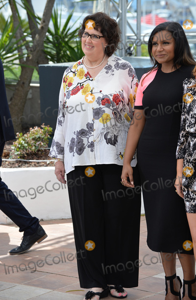 Phyllis Smith Photo - Phyllis Smith  Mindy Kaling at the photocall for their movie Inside Out at the 68th Festival de CannesMay 18 2015  Cannes FrancePicture Paul Smith  Featureflash