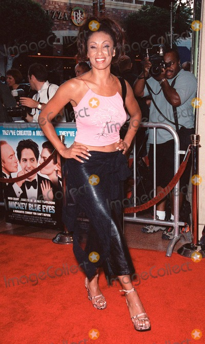 Downtown Julie Brown Photo - 17AUG99 MTV presenter DOWNTOWN JULIE BROWN at the Los Angeles premiere of Mickey Blue Eyes which stars Hugh Grant Paul Smith  Featureflash