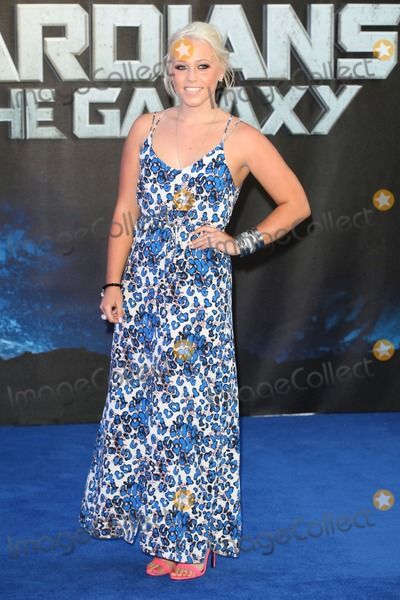 Amelia Lily Photo - Amelia Lily arriving for the UK Premiere of Guardians of the Galaxy at Empire Leicester Square London 24072014 Picture by Alexandra Glen  Featureflash