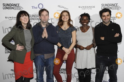 Alice Lowe Photo - Alice Lowe Mike Birbiglia Lake Bell Destiny Ekaraghia and Jordan Vogt-Roberts arriving for the Senses of Humor panel event as part of the Sundance London Festival 2013 at the O2 Greenwich London27042013 Picture by Steve Vas  Featureflash