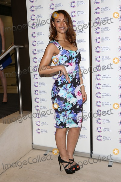 Amelle Berrabah Photo - Amelle Berrabah arriving at James Jog On To Cancer Event Kensington Roof Gardens London 09042014 Picture by Henry Harris  Featureflash